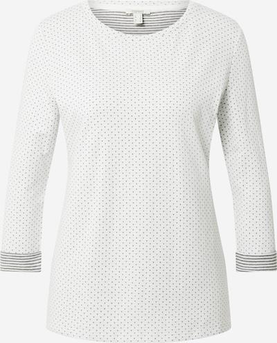 ESPRIT Tričko 'Noos' - šedá / offwhite, Produkt