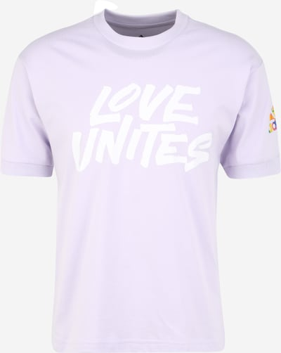 ADIDAS PERFORMANCE Functioneel shirt 'Pride Unites' in de kleur Sering / Wit, Productweergave