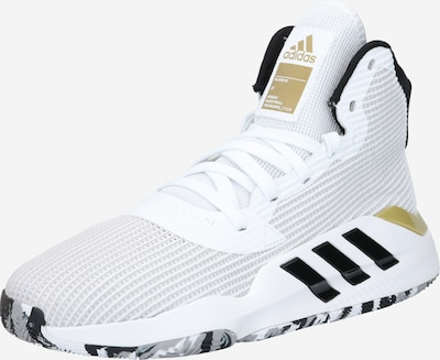 ADIDAS PERFORMANCE Sportschuh 'Pro Bounce 2019' in gold / schwarz / weiß, Produktansicht