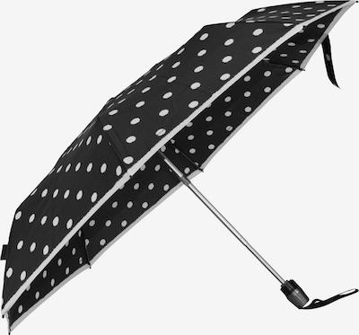 KNIRPS Regenschirm in schwarz / weiß, Produktansicht