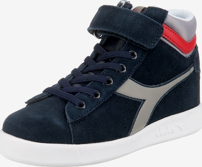Diadora Sneakers 'Game S High PS' in navy / rot / weiß, Produktansicht