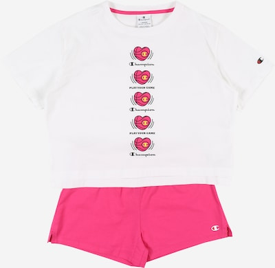 Champion Authentic Athletic Apparel Mädchen-Set in pink / weiß, Produktansicht