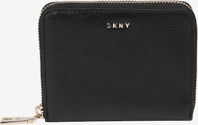 DKNY Geldbörse 'BRYANT-SM ZIP AROUND-SUTTON' in gold / schwarz, Produktansicht