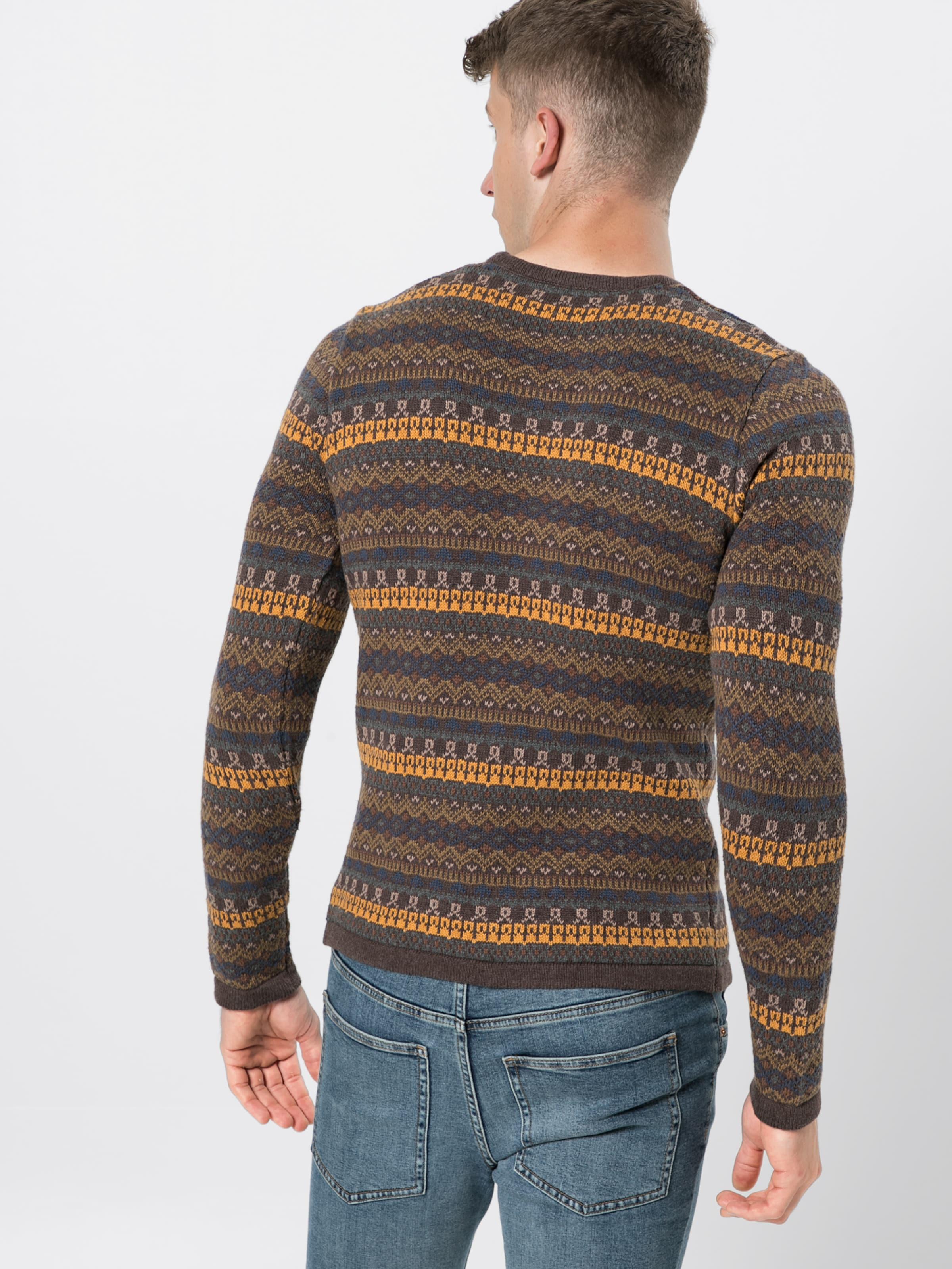 In Pullover BraunMischfarben 'knitRamiro' solid solid 'knitRamiro' In Pullover hQdsCtr