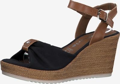 TAMARIS Sandalette in navy / braun, Produktansicht