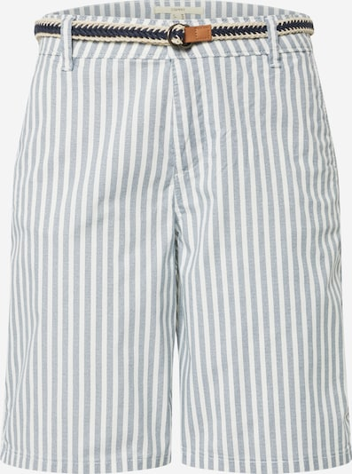 ESPRIT Shorts in taubenblau / weiß, Produktansicht