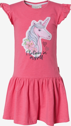 SALT AND PEPPER Kleid 'Einhorn' in dunkelpink, Produktansicht