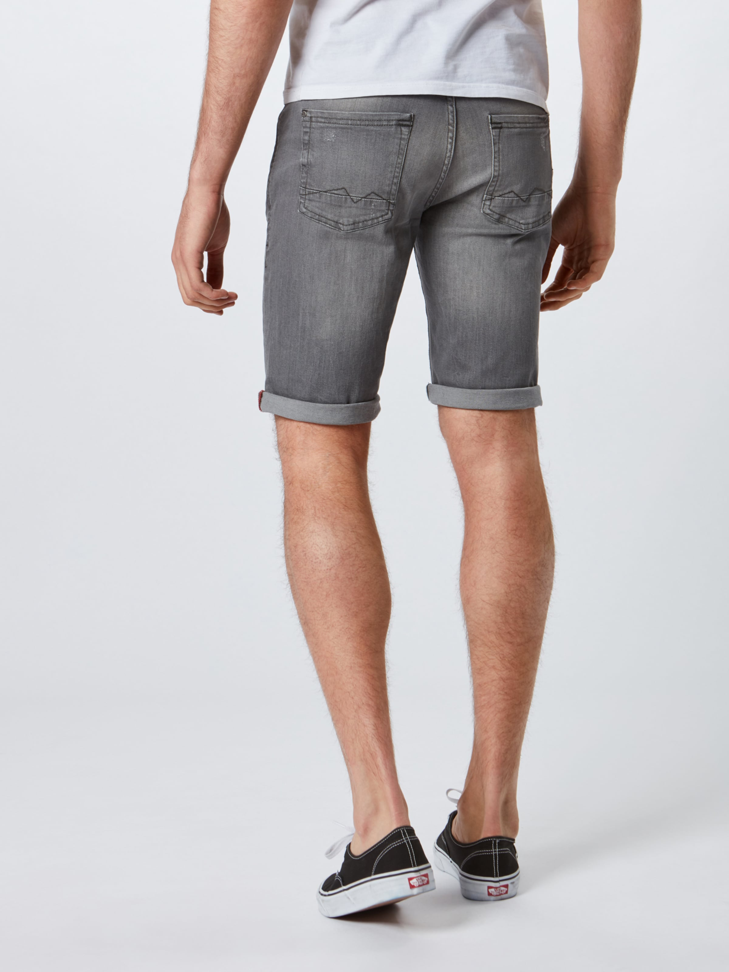 Denim Jeans Shorts 'denim Blend Grey Slim' In Twister mwNn08
