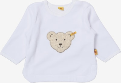 Steiff Collection Sweatshirt langärmlig in beige / weiß, Produktansicht