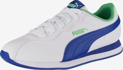PUMA Sneaker 'Turin II Jr' in blau / hellgrün / weiß, Produktansicht