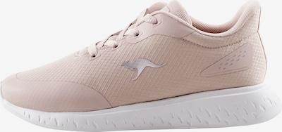 KangaROOS Sneaker in rosé / weiß, Produktansicht