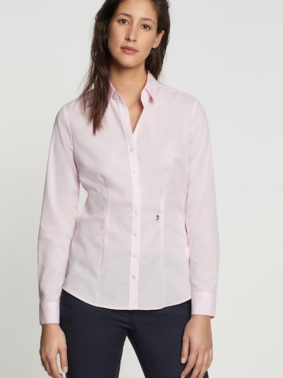 SEIDENSTICKER Bluse in rosa, Modelansicht