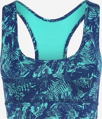 Hey Honey Biustonosz sportowy 'HAWAII' w kolorze niebieski / turkusowy / mieszane kolorym, Podgląd produktu