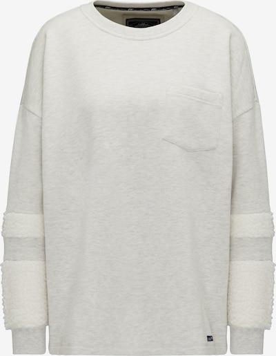 DREIMASTER Sweatshirt in de kleur Lichtgrijs / Wolwit, Productweergave