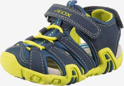 GEOX Kids Lauflernschuh 'B Sandal Kraze' in dunkelblau / apfel, Produktansicht
