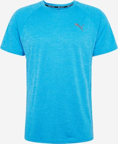 PUMA T-Shirt fonctionnel en aqua, Vue avec produit