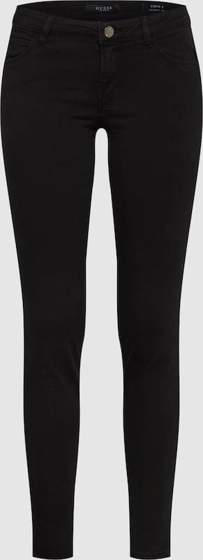 GUESS Jeans 'CURVE X' in schwarz  Freizeit, schlank, schlank