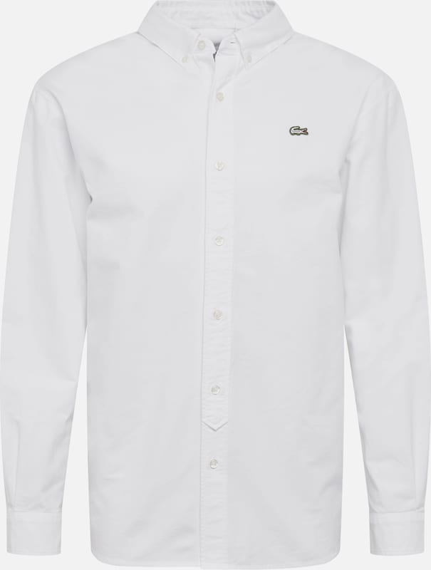 Lacoste LIVE Hemd 'CHEMISE MANCHES LONGUES' in weiß, Produktansicht