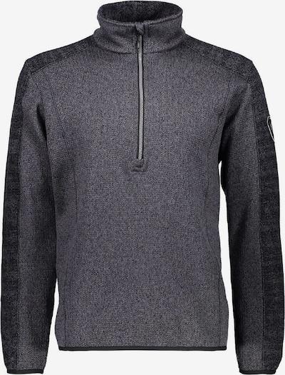 CMP Pullover in anthrazit / schwarz, Produktansicht