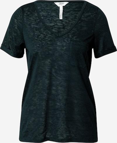 OBJECT Shirt in dunkelgrün, Produktansicht