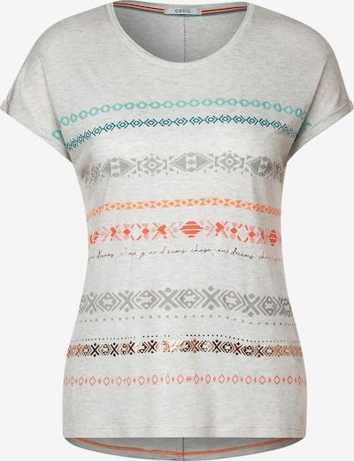 CECIL T-Shirt mit Frontprint in mischfarben, Produktansicht