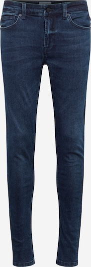 Only & Sons Jeans 'Warp Blue Black' in blue denim: Frontalansicht