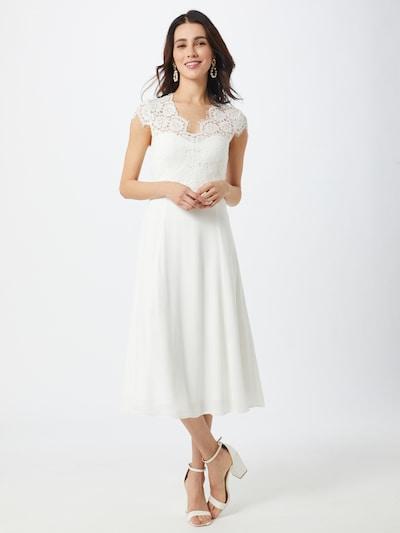 IVY & OAK Kleid'MIDI LACE BRIDAL' in weiß, Modelansicht