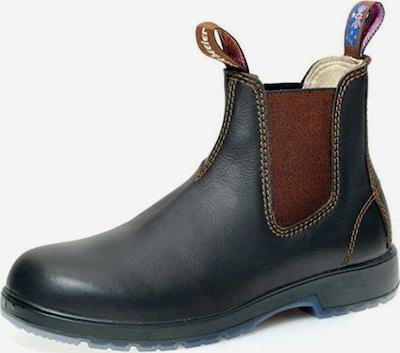 Blue Heeler Chelsea Boots in dunkelblau / dunkelbraun, Produktansicht