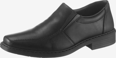 RIEKER Slipper in schwarz: Frontalansicht