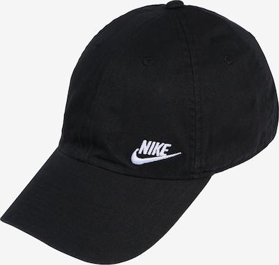 Nike Sportswear Casquette 'Heritage86' en noir / blanc, Vue avec produit