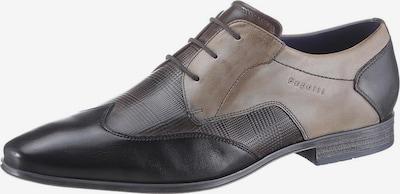 bugatti Schnürschuhe in hellgrau / dunkelgrau, Produktansicht