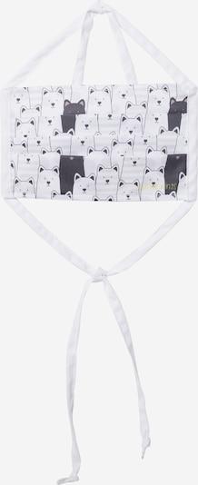 Butter Kings Zaštitna maska 'black cat' u crna / bijela, Pregled proizvoda