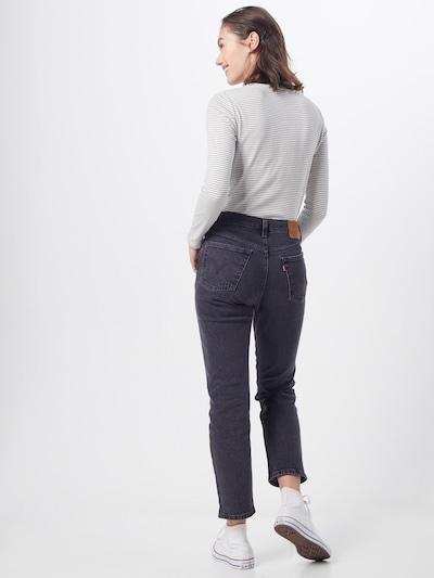 LEVI'S Jeansy '501 CROP' w kolorze szary denimm: Widok od tyłu