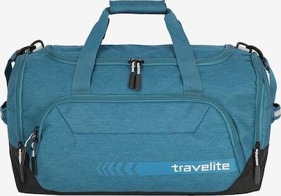 TRAVELITE Weekendtas in de kleur Petrol / Zwart, Productweergave