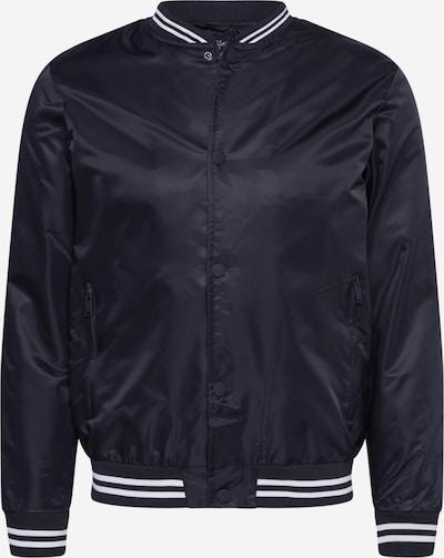 BRAVE SOUL Prehodna jakna 'MJK-STORMY' | črna barva, Prikaz izdelka