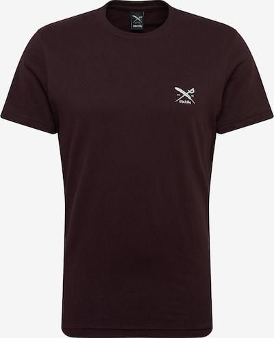 Iriedaily T-Shirt 'Chestflag' in aubergine, Produktansicht