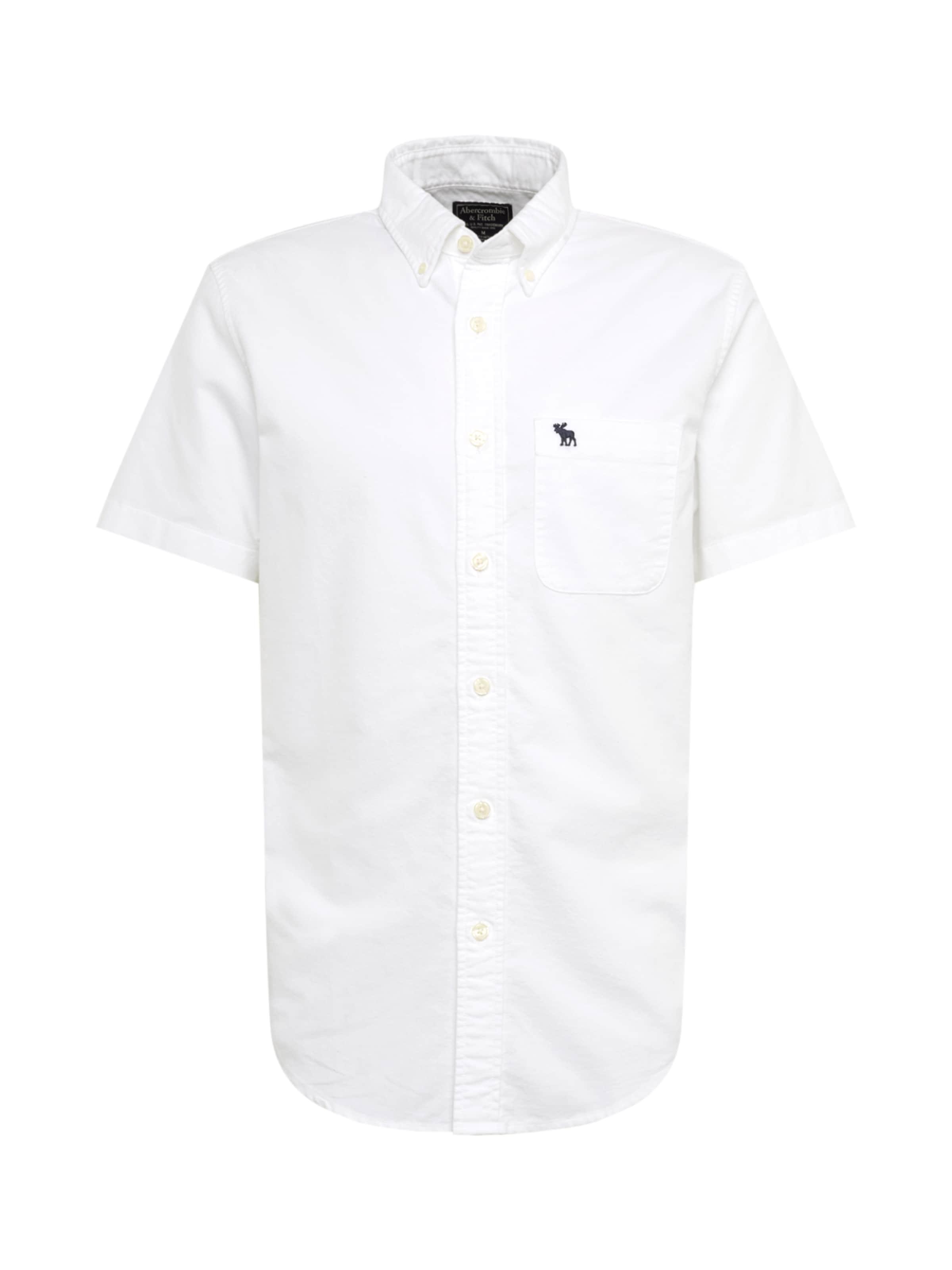 Fitch Oxforddtc 'ss Abercrombieamp; Hemd Weiß In ' c1JKFl