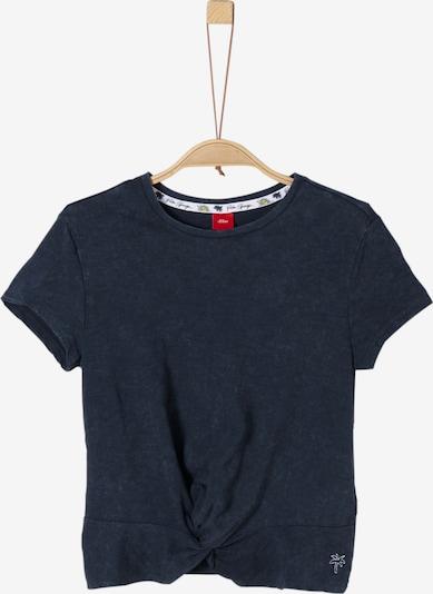 s.Oliver Junior Shirt in kobaltblau, Produktansicht