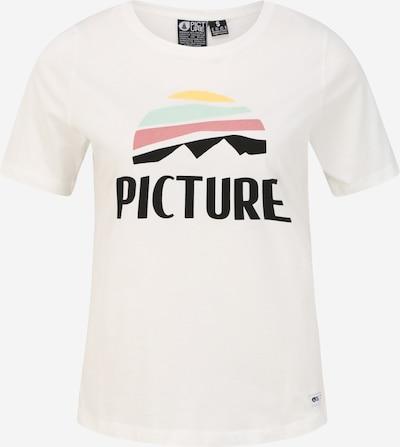 Picture Organic Clothing Sportshirt 'KEY' in schwarz / weiß, Produktansicht