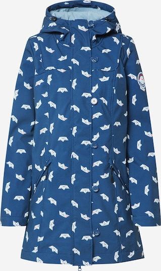 Blutsgeschwister Parka 'wild weather long anorak' in navy, Produktansicht