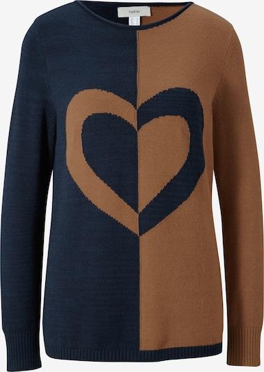 heine Sweter w kolorze ircha / atramentowym: Widok z przodu