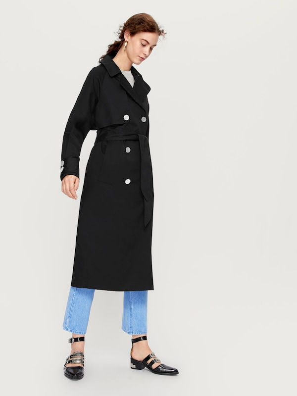 EDITED the label Trenchcoat 'Clea'