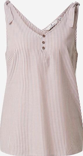 TOM TAILOR Bluza | svetlo modra / bela barva, Prikaz izdelka