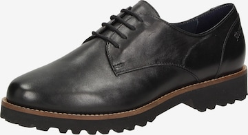 SIOUX Lace-Up Shoes 'Meredith-700-XL' in Black
