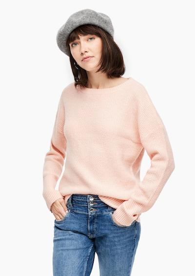 Megztinis iš Q/S designed by , spalva - ryškiai rožinė spalva: Vaizdas iš priekio