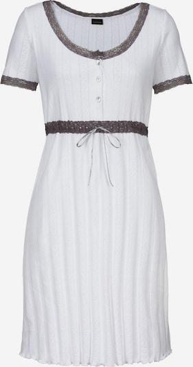 LASCANA Pajama shirt in Nature white, Item view