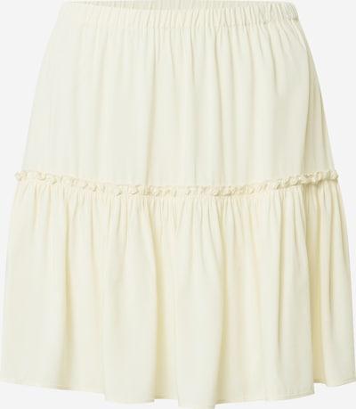 NA-KD Sukně - přírodní bílá: Pohled zepředu