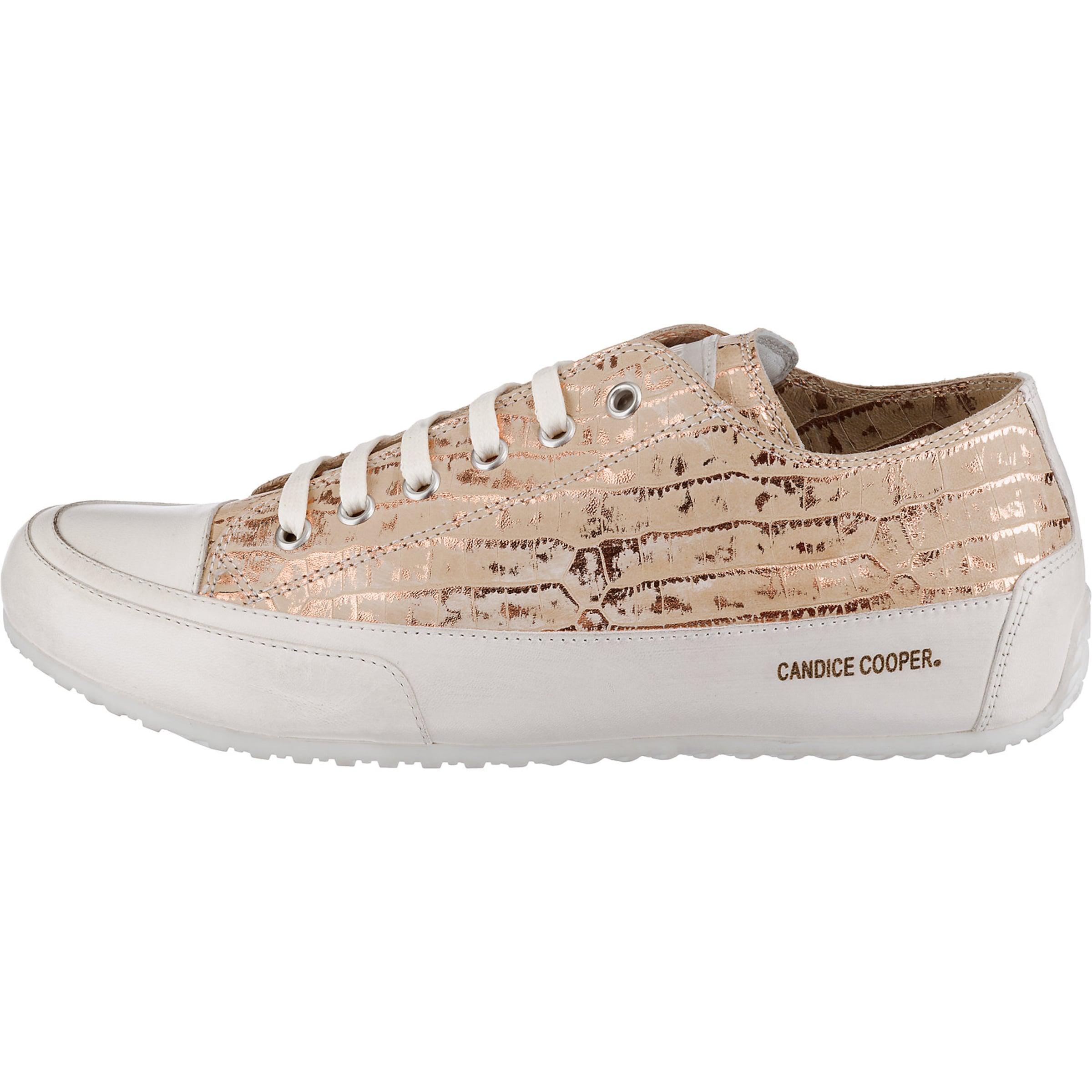 Candice Candice Cooper Sneakers GoldWeiß In Cooper HIE9D2
