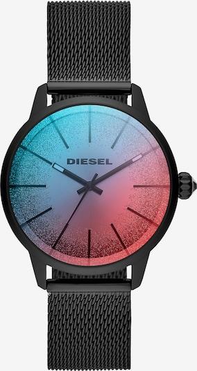 DIESEL Quarzuhr 'Castilia DZ5596' in blau / rot / schwarz, Produktansicht