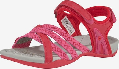 HI-TEC Outdoorsandale in pink / rot: Frontalansicht